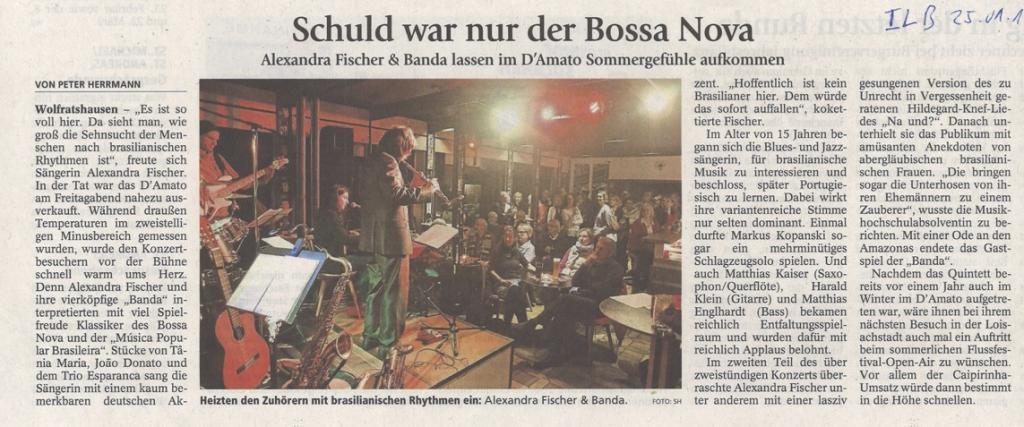 Presse Banda vom 25.1.16