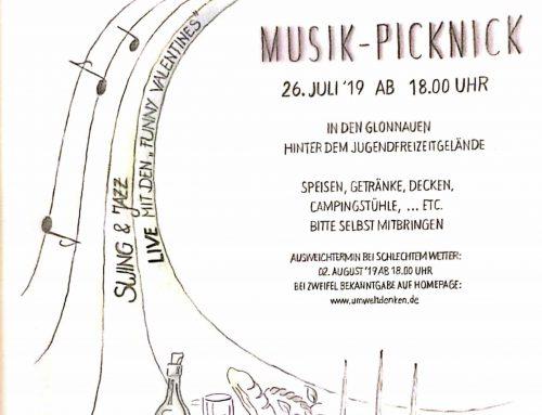 MUSIK-PICKNICK